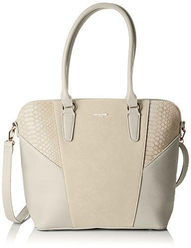 David Jones Women's 5728-2 Top-Handle Bag Grey (Grey 5728-2)