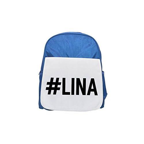 # Lina Printed Kid 's Blue Backpack, Cute de mochilas, Cute Small de mochilas, Cute Black Backpack, Cool Black Backpack, Fashion de mochilas, large Fashion de mochilas, Black Fashion Backpack