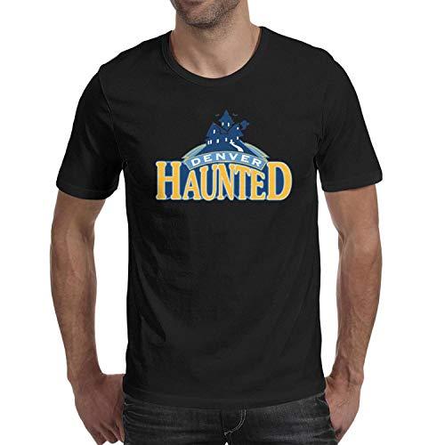 Gordon Eric Clippers (YFthor Denver Haunted Basketball Halloween Team Logo Man's tee t Shirts)