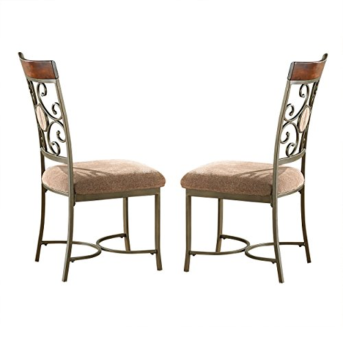 Steve Silver Company Thompson Side Chairs (Set of 2), 19″ W x 23″ D x 40″ H Review
