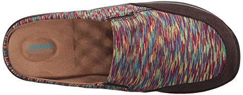 Softwalk Alcon Brown Donna dark Bright Zoccoli Multi BBdnrpwq67