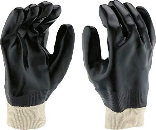 West Chester 12000 PVC Coated Interlock Lined Glove, Work, Knit Wrist Cuff, 9-5 8