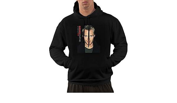 NolanO Ronan Keating-10 Years Of Hits Mens Hoodies Hooded Sweatshirt With Pocket Black Men