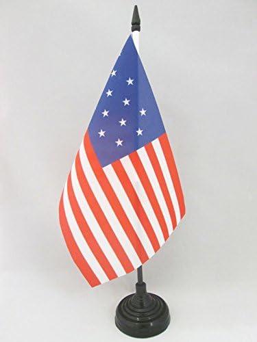 AZ FLAG Bandera de Mesa de Estados Unidos 15 Estrellas 21x14cm ...