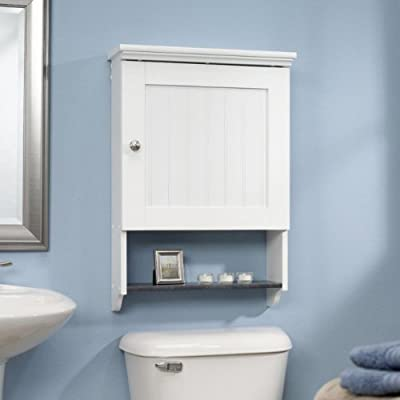 Sauder Bath Caraway Collection Wall Cabinet