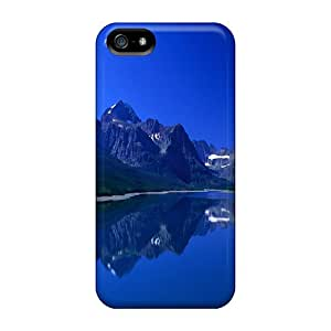 New ZYZKH4272ZdieA Nature In Beautiful Blue Skin Case Cover Shatterproof Case For Iphone 5/5s