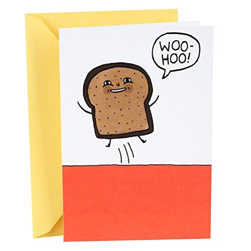 Hallmark Shoebox Funny Birthday Card (Toast) (Mom Funny Card For Birthday)