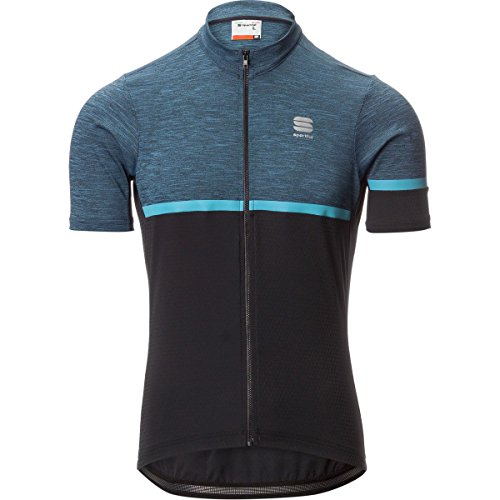 d4000a6aa07e7 Sportful Giara Short-Sleeve Jersey - Men s Blue Denim Black Blue