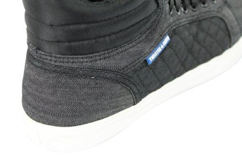 Twisted Faith - Zapatillas de algodón para hombre Gris gris pA0UQgxR