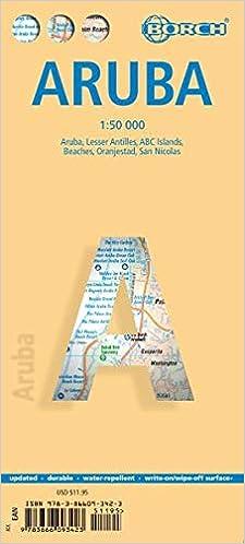 Aruba, Borch map: Aruba, Lesser Antilles, ABC Islands ...