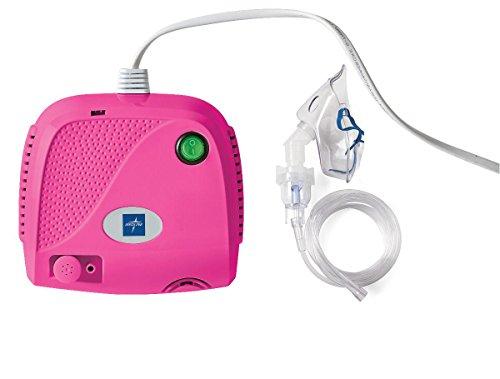 [해외]Compact Piston Compressor with Full Mask Kit in Pink / Compact Piston Compressor with Full Mask Kit in Pink