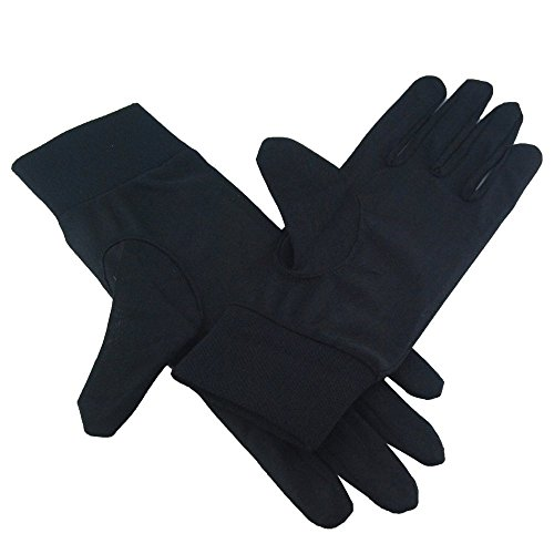 Excellent Pure Silk Liner Gloves 7.5*25.5cm (Size:S)