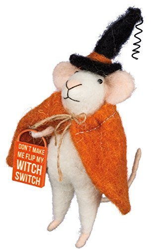 Primitives by Kathy Halloween Witch Felt (Primitive Halloween Witch)