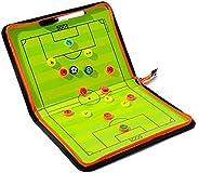 CMLLING Football Coaching Board,Dry Erase Coaching Clipboard, Portable Professional Soccer Board,Coach clipboa