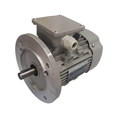 B5-230//400V ENERGIESPARMOTOR IE2 Drehstrommotor 0,75 kW 3000 U//min