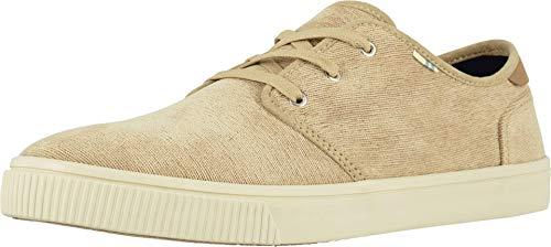 TOMS Men's Carlo Sneaker, Brown, 11