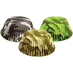 Fox Run 572580-7134 7134 Camouflage Bake Cup Set, Standard, Multicolor