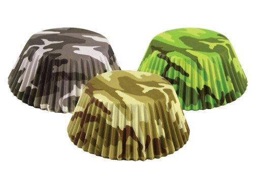 Fox Run 7134 Camouflage Bake Cup Set, Standard, 75 Cups