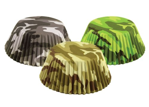 Fox Run 7134 Camouflage Bake Cup Set Multicolor