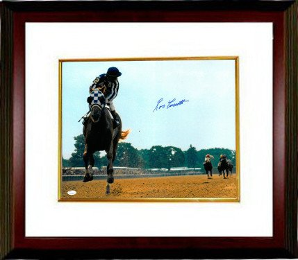 RDB Holdings & Consulting CTBL-MW21351 16 x 20 1973 Belmont Stakes Horse Racing Ron Turcotte Signed Secretariat Photo Frame from RDB Holdings & Consulting