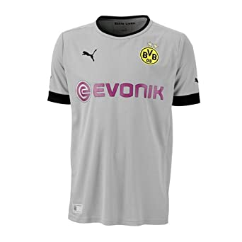 PUMA - Camiseta de fútbol sala para hombre, tamaño XXL, color gris