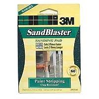 3M SandBlaster 20918-60 Esponjas de lijado decapantes de pintura, grueso 60