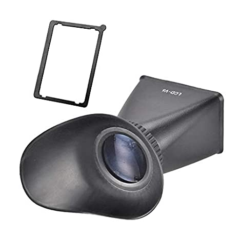 Cámara réflex LCD Visor Lupa Ampliación Cubierta de la Pantalla ...