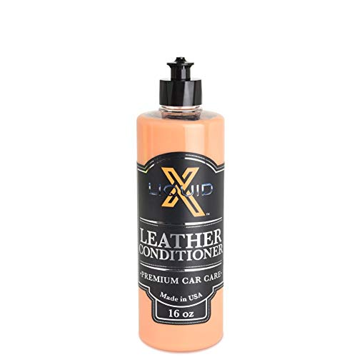 Liquid X Leather Conditioner - Conditions and Protects with Non Greasy Formula (16 oz)