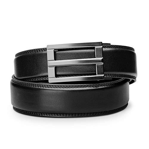 - KORE Men's Full-Grain Leather Track Belt  