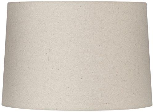 Beige Linen Drum Lamp Shade 15X16X11