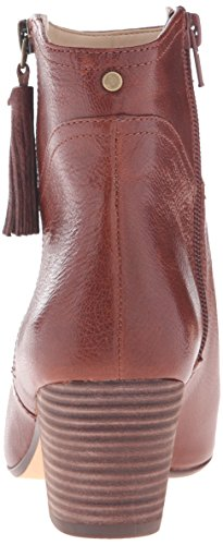 outlet factory outlet Nine West Women's Hannigan Leather Ankle Bootie Cognac get to buy sale online largest supplier Zwzozv