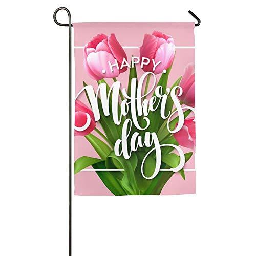 NOAID Custom Garden Flag Happy Mother's Day Garden