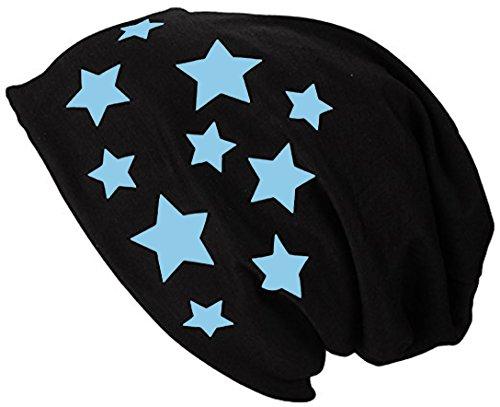 bonnet Ciel Jersey Bonnet Bleu Etoile D'été femme Beanie Homme Long Printemps 2store24 aB6xqnpwYa