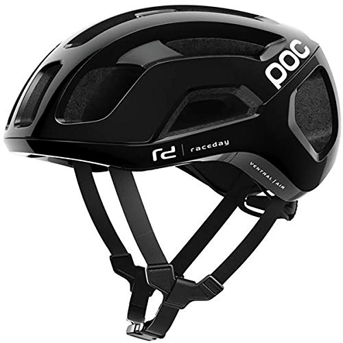 POC Ventral Air Spin Helmet Uranium Black Raceday, ()