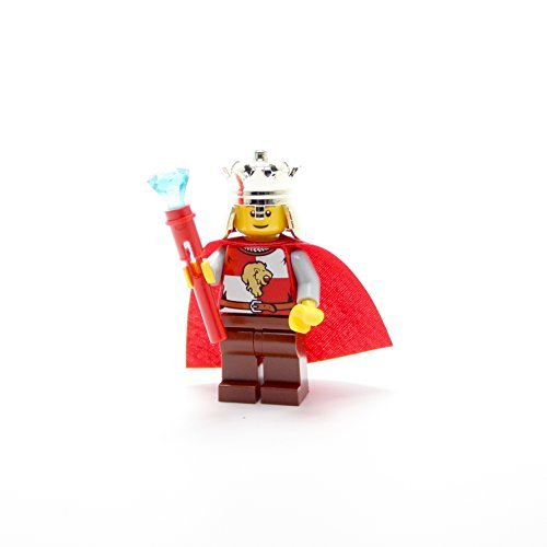 LEGO Collectible Minifigures 2011 Kingdoms Series KING WITH SCEPTOR (Loose Figure)