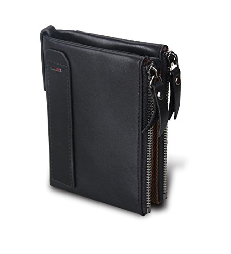 Zippered Mens Wallet - 6