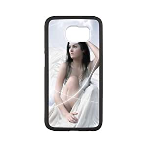 Fantasy Angel Samsung Galaxy S6 Cell Phone Case White meom