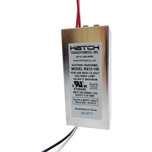 RS12-150 (12V/150W) HATCH Halogen Electronic Lighting Transformer 150w Electronic Transformer