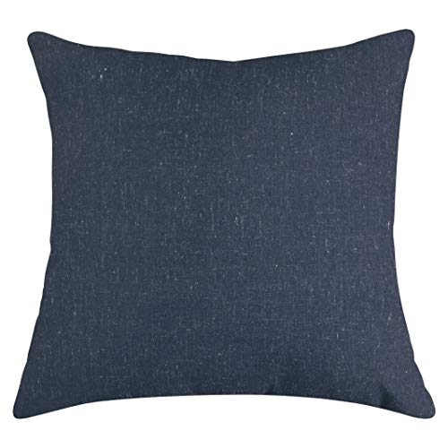 Majestic Home Goods Navy Wales Indoor Large Pillow 20 L x 8 W x 20 H