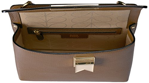Kiely Robin Nutmeg Textured Leather Orla Bag H1q7nf7Z