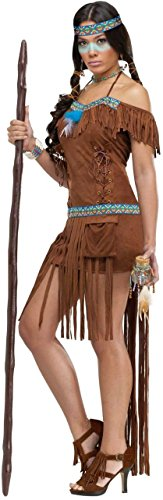 [Medicine Woman Costume - Small/Medium - Dress Size 2-8] (Pocahontas Costumes For Adults)