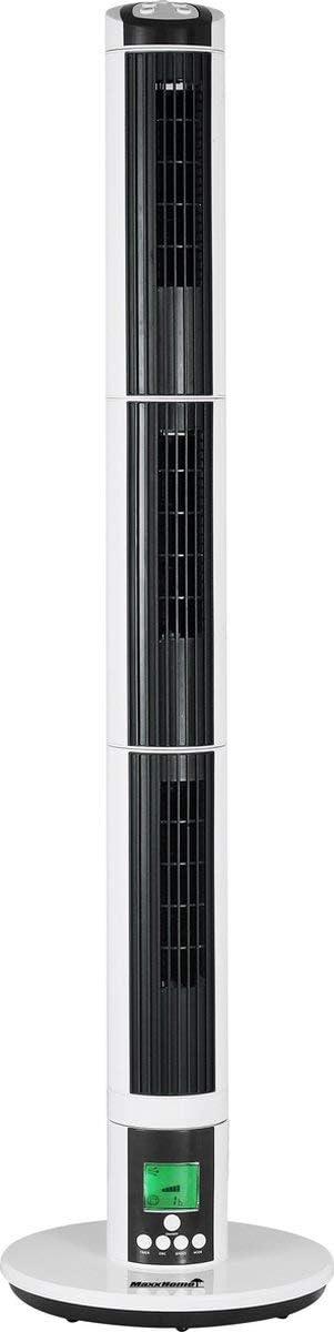 MaxxHome FT-T03DX Ventilatore elettrico a torre silenzioso 270/° oscillante e timer 9 velocit/à telecomando