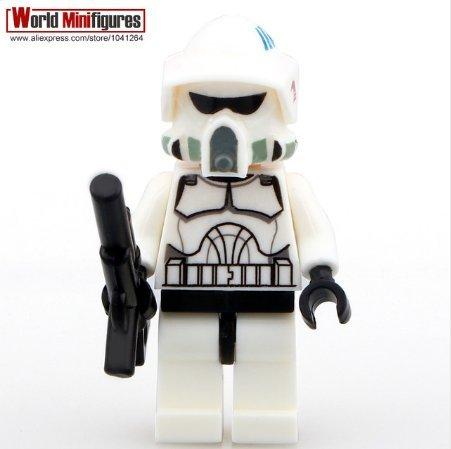 [Clone ARF Trooper Elite Clone Trooper Space Wars Minifigures (Without Box )] (Clone Trooper Costumes Authentic)