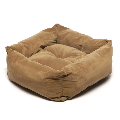 Cpc Microfiber 32-Inch Square Pet Bed, Moss