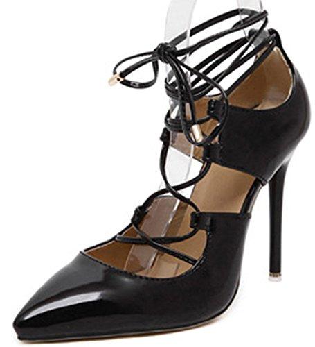 Scarpe Da Donna Eleganti Easemax Con Tacco Alto Alla Caviglia E Scarpe Col Tacco Alto A Punta