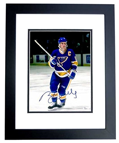 4aaef84df Brett Hull Autographed Signed St. Louis Blues 11x14 Photo Black Custom  Frame - JSA Authentic