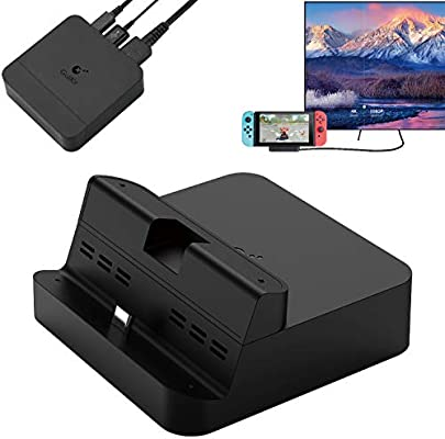 GULIkit Switch Dock Set Base de Carga Portatil, USB Tipo C a HDMI ...