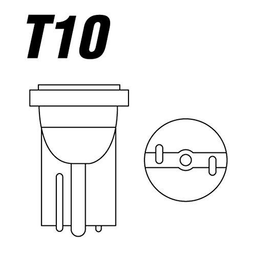 Lamp.T10 Xenon Bianco 24V 5W 2pz