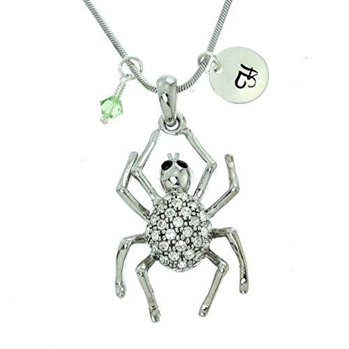 Sparkling Crystal Block Ring Chandelier: Amazon.com: Personalized Spider Pendant Sparkling Crystals