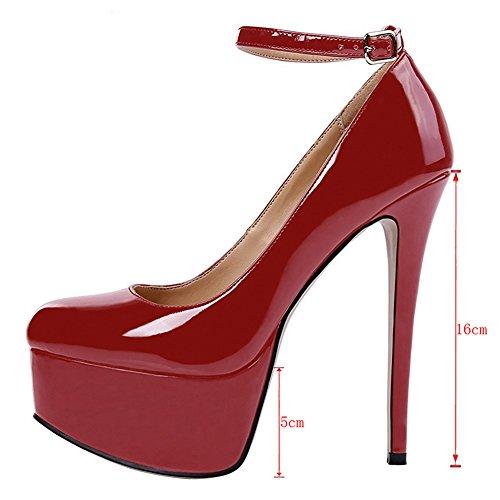 EKS - Zapatos de vestir para mujer Wein